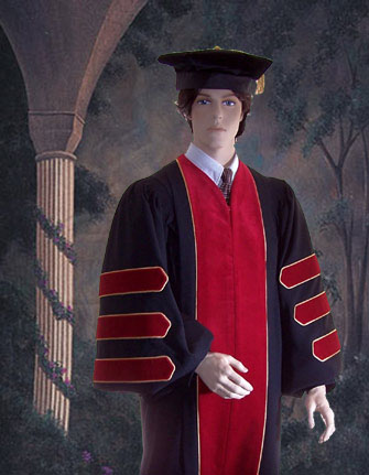 Doctor Of Divinity Doctoral Robe