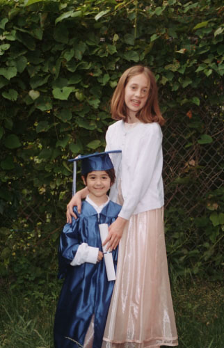 kindergarten graduation gown